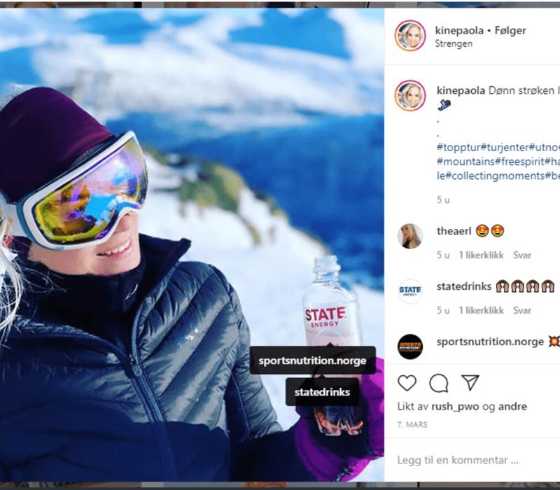 Forbudsvedtak for skjult reklame i sosiale medier